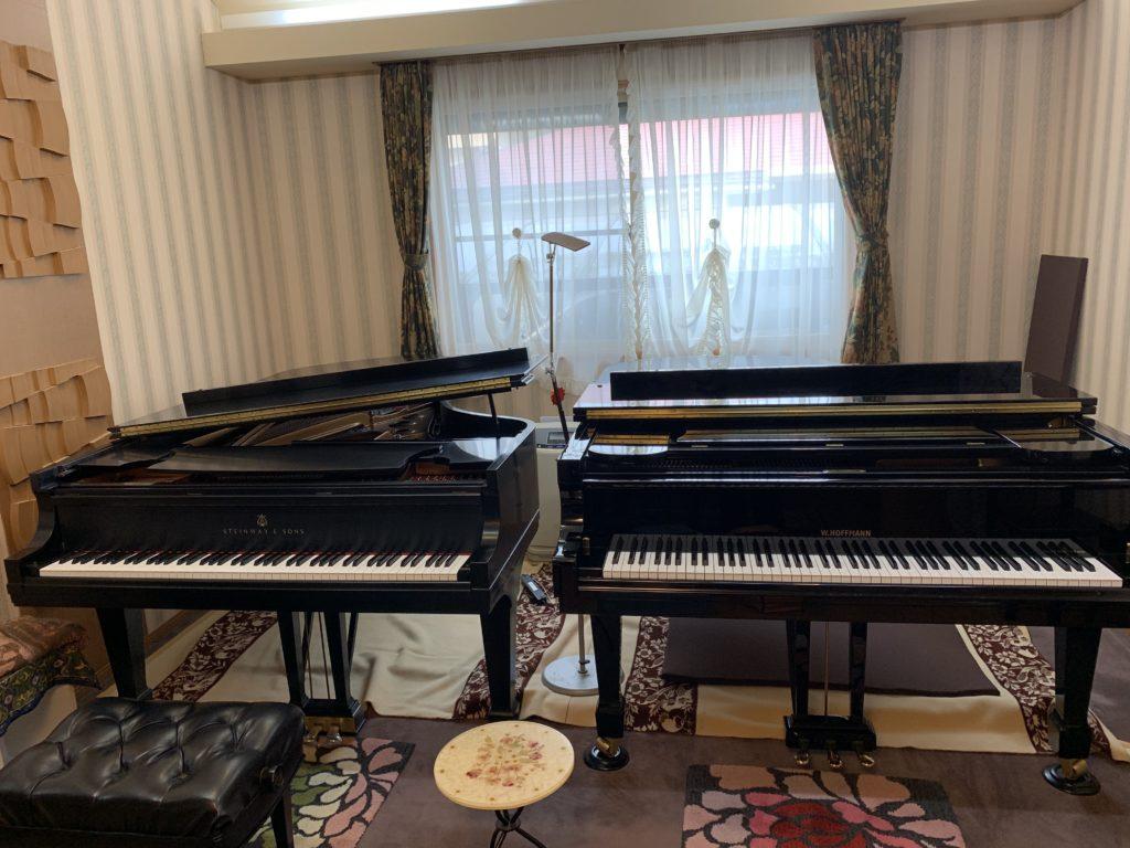 レスナー様からお預かりしてオーバーホールしたスタインウェイピアノを納品しました
