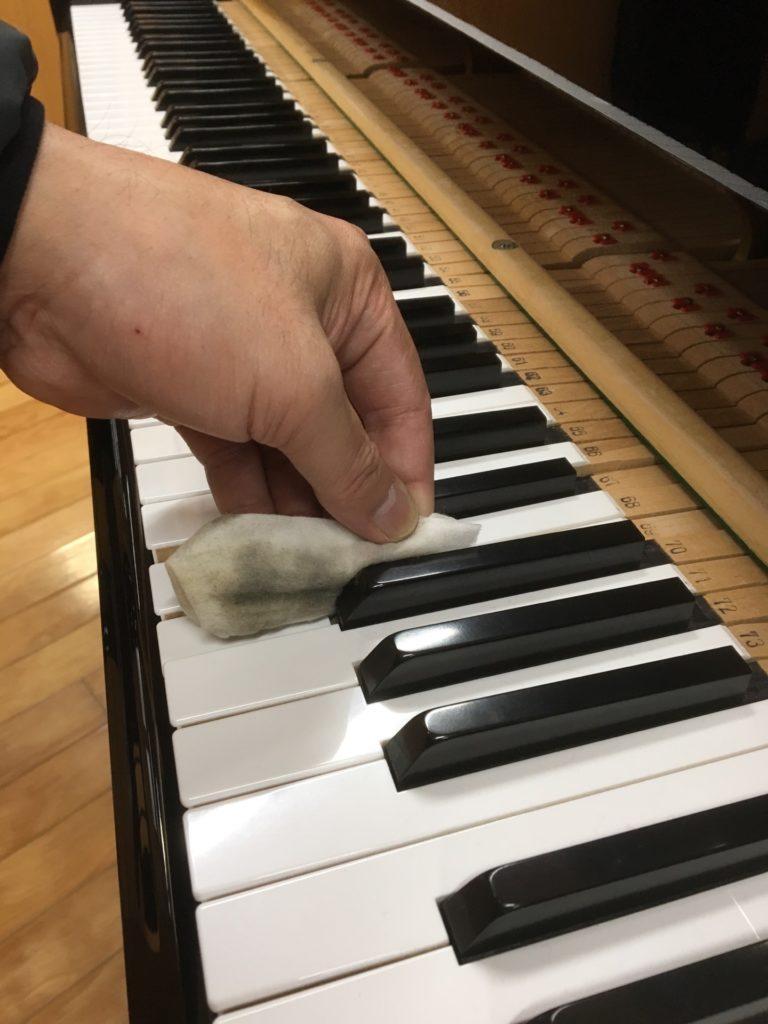 鍵盤がキタナイ